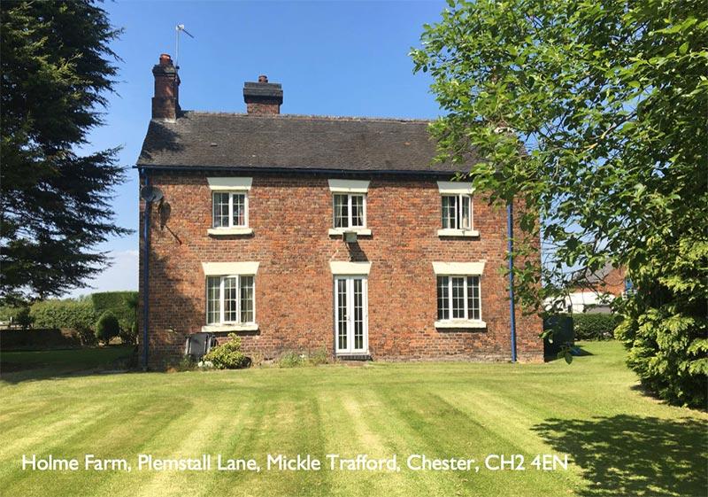 Holme Farm, Plemstall Lane, Mickle Trafford, Chester, CH2 4EN