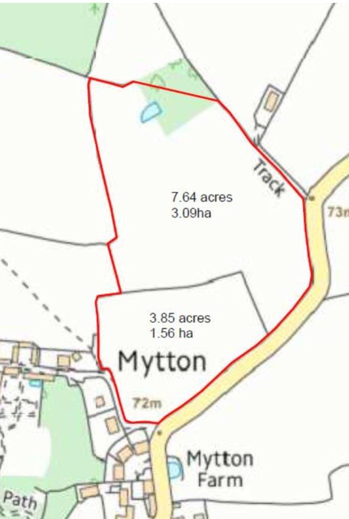 Farm Business Tenancy Opportunity – 11.49 acres (4.65 ha) of productive land Mytton Hall, Mountford Bridge, Shrewsbury, SY4 1EU