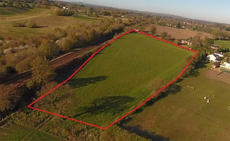 1.99 ha (4.92 acres) of Pasture Land Land off Weaverham Road, Gorstage, Northwich, CW8 2SG