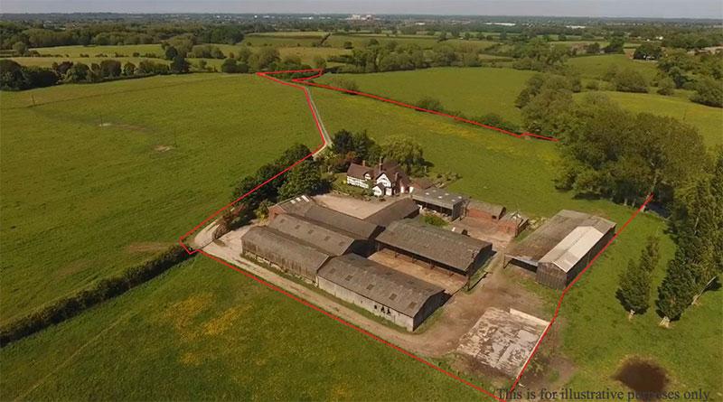 Sold STC – Bridge End Farm, Shipbrook Road, Davenham, Northwich, Cheshire
