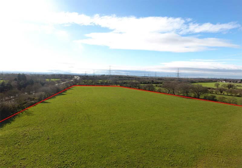 5.54 ha (13.69 acres) of Agricultural Land at Chorlton-by-Backford