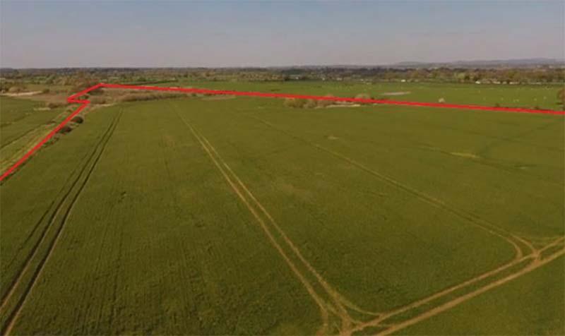 48.84 acres (19.77 ha) of Arable Land off Long Lane