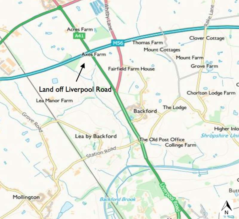 Land & Woodland off Liverpool Road